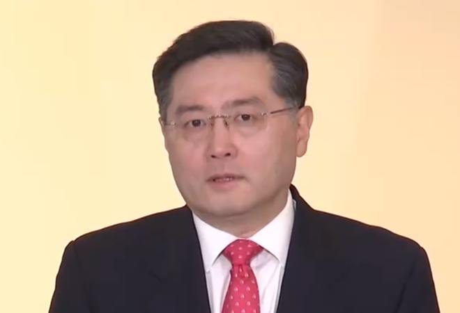 秦刚大使在线出席美中贸委会董事会欢迎活动